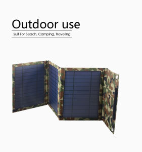 Fotovoltatic Outdoor Flexible Solar Mobile Charger