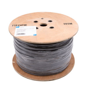FTP Cat5e Cable in CCA High Quality pictures & photos