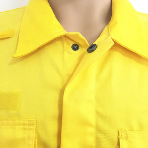 Hubei Manufacture 100% Cotton Fr Construction Safety Workwear with Badge pictures & photos