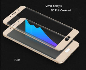 3D Heat Bending Full Coverage Tempered Glass Screen Protector for Vivo Xplay 6 From Shenzhen Factory