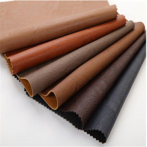 Sofa Making PU Leather Synthetic Leather for Furniture pictures & photos