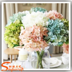Artificial Silk Hydrangea Flower for Wedding or Restaurant Decoration pictures & photos