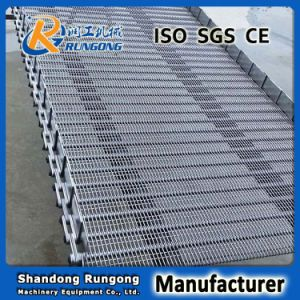 Top Level Stainless Steel Ring Wire Mesh Belt / Eye Link Conveyor Belts pictures & photos