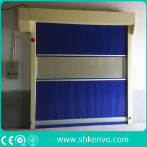 Automatic Industrial PVC Fabric Hi Speed Fast Rapid Roller Shutter Door pictures & photos