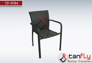 Competive Price Patio Furniture Rattan Coffee Shop Chairs