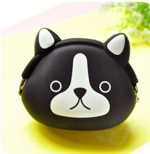 Candy Color Cute Coin Bag Packet Key Bag Cartoon Silicone Female Zero Wallet 0.05 pictures & photos