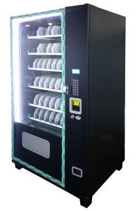 Compact Vending Machine with 6 Trays, 8 Column Support Digital Payment pictures & photos