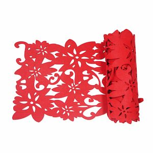 3mm & 5mm Polyester Table Runner for Tabletop and Holiday Decorations