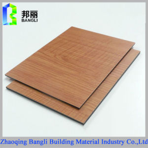 Wood Aluminum Composite Panel Aluminum Profile Decoration Material