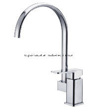 Zinc Material Single Handle Kitchen Mixer Z69819 pictures & photos
