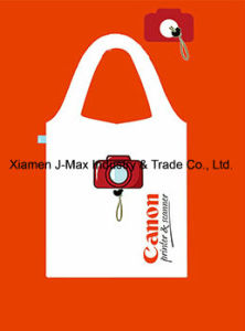Foldable Shopping Bag, Promotion Bags, Camera Style, Reusable, Lightweight, Grocery Bags and Handy, Gifts, Promotion, Tote Bag, Decoration & Accessories pictures & photos