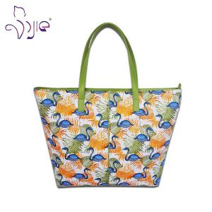 High Quality Cotton Printing Lady Tote Bag