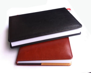 Supreme Quality Leather Notebook (YY-N0208) pictures & photos