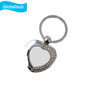 Full Sublimation Printing Blank Coated Printable Keyring