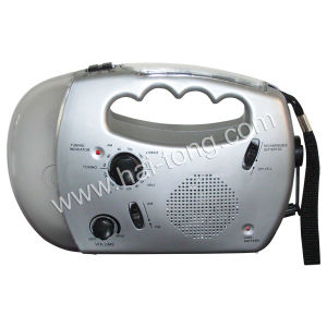 Dynamo Radio with Flashlight (HT-868A) pictures & photos