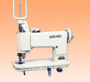 Golden Wheel Handle-Operated Lackstitch Zig-Zag Machine CS-530