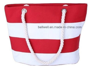 Canvas Shopping Thick Rope Handle Bag pictures & photos