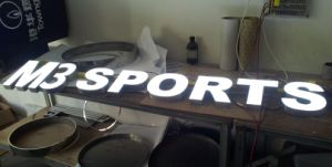 Illuminated Face-Lit Dimetntional 3D Company Signage LED Letters Sign pictures & photos