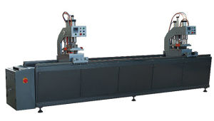 Two Head Seamless Welding Machine for PVC Window and Door (SHZ2G-120X3500)