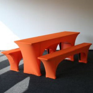 China Spandex Stretch Beer Bench Cover