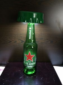 Wireless Bottle Cap LED Lamp pictures & photos