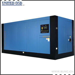 Direct Drive Water Cooling 500kw Electric Industrial Screw Air Compressor