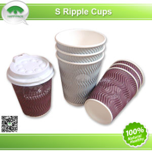 S Corrugated Paper Cup pictures & photos