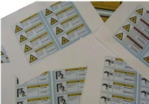 Synthetic Paper Label Sticker Printing