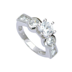 925 Silver Jewelry Ring (No: 210941) (Weight 5.3G)