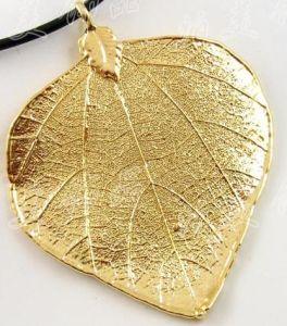 China 24k Gold Plated Natural Leaf China Gold Leaf Gold Natural Leaf