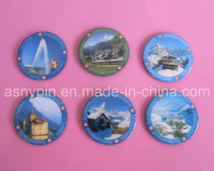 Switzerland Tourist Fridge Magnets, Aluminum Printing Fridge Magnet pictures & photos