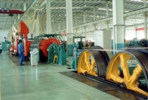 (JLK-500/6+12+18+24) Type Rigid Frame Stranding Machine