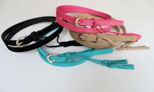 Fashion Skinny Belt with Candy Color