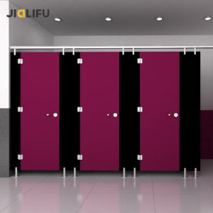 Jialifu High Quality Wood Compact Laminate Toilet Partition