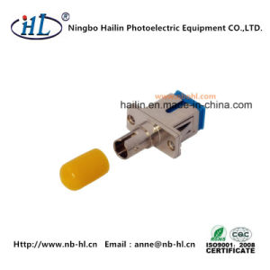 Sm/PC Sc-St Fiber Optic Adapter for Fiber-Opticalal Communications pictures & photos
