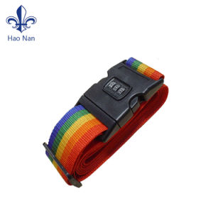 Custom Promotional Products Black Luggage Strap for Packing Goods pictures & photos