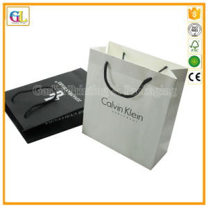 Printed Paper Shopping Bags (OEM-GL009) pictures & photos