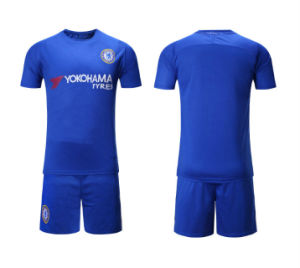 best sneakers 61f23 b7f98 Wholesale 2017 2018 Chelsea Home Soccer Jerseys Top Thai Quality Football  Jerseys