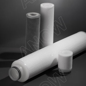 10inch 0.22um Hydrophilic Nylon Pleated Filter