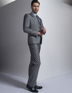 Fashion Office Suits Pant White 100 Wool