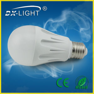 7W E27 625lumen SMD2835 AC85-265V LED Bulb with CE & RoHS