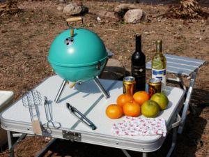 2015 New Style Iron Charcoal BBQ Grills pictures & photos
