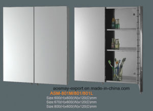 Stainless Steel Mirror Cabinet (ASM-801)
