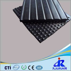 Round DOT Front and Grooved Back Cow Rubber Matting / Mats pictures & photos