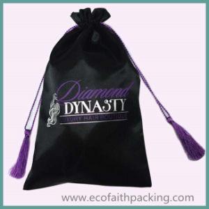 Satin Virgin Hair Packaging Bag Extension Bundles