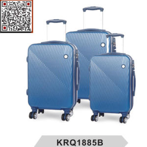 100% New ABS PC Travel Trolley Luggage Set pictures & photos