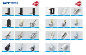 Wangtong High Security Zinc Alloy Stainless Steel Capped Shower Door Lock pictures & photos