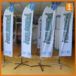 Outdoor Teardrop Flag and Banner with X-Cross Base (TJ-50) pictures & photos