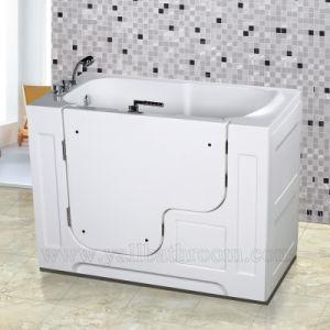 China 115A The Elderly Acrylic Massage Bathtub Walk-in Tub