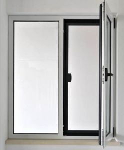 Aluminum Side-Hung Opening Casement Window/Easy Operate